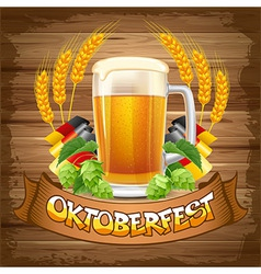 Octoberfest vector image vector image