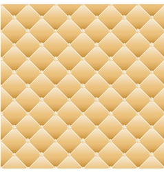 Abstract upholstery on a yellow background vector image vector image