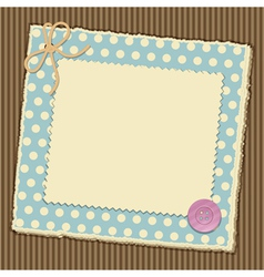 Scrapbooking layout vector