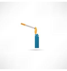 Smoking symbol vector