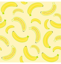 Banana seamless vector