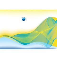 modern wave vector image