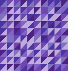Retro triangle pattern with violet background vector