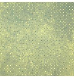 vintage polka dot vector image vector image