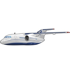 Passenger aircraft vector