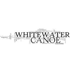 A whitewater canoe buy or rent text word cloud vector