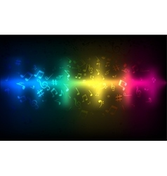 Abstract audio sound wave equalizer Music sound vector image