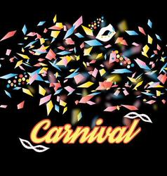 Bright colorful a carnival background vector