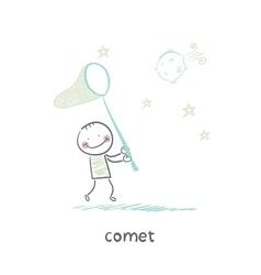 comet vector image vector image