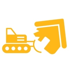 Demolition icon from business bicolor set vector