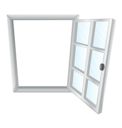 Single window frame vector