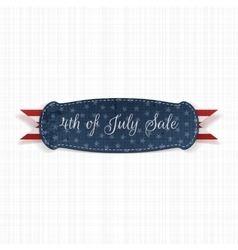 Independence day 4th of july festive card template vector