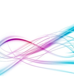 Bright abstract speed lines background vector image vector image