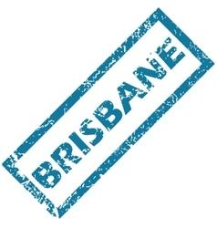 Brisbane rubber stamp vector