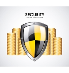 security money vector image vector image