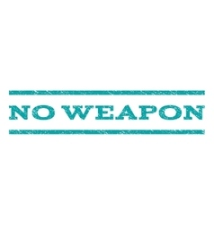 No weapon watermark stamp vector