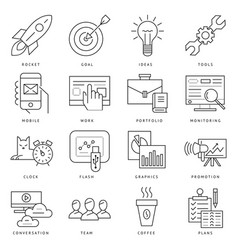 digital black startup business vector image