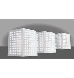 real estate buildings vector image