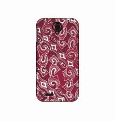 batik phonecase 29 vector image