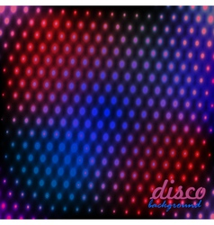 Bright the background disco vector image