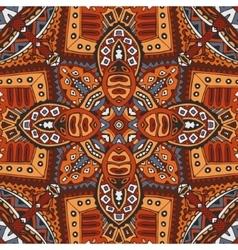 geometric ethnic tribal indian print vector image vector image