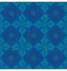 Chic royal linear pattern with texture vector