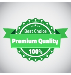 Best choose premium quality badge vector