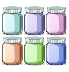 Jars vector image