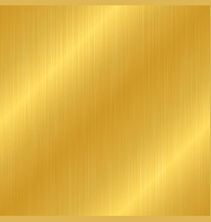 Seamless gold metal texture vector