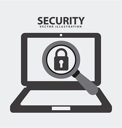 security system vector image