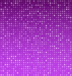 Squares purple technology pattern vector
