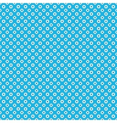 Blue seamless pattern background vector image