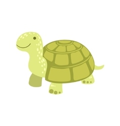 Tortoise stylized childish drawing vector