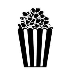 popcorn box icon vector image