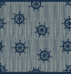 Seamless pattern wheels and stripes vector