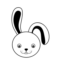 Rabbit or bunny icon image vector