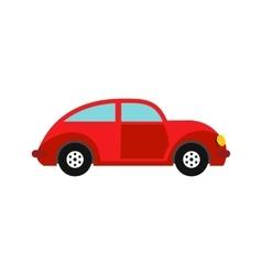Car vintage car icon flat style vector image