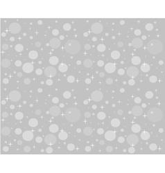 Christmas snowfall on the background of grey sky vector