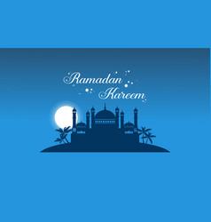 Collection stock greeting card ramadan kareem vector