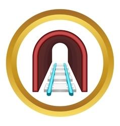 Rails icon vector