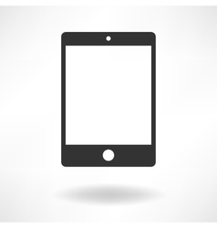 Tablet Simple Icon vector image vector image