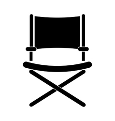 Director chair symbol vector