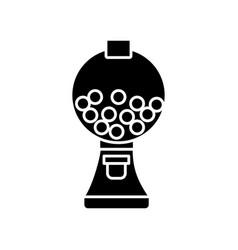 Gumball machine icon vector