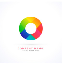 Abstract circle concept logo vector