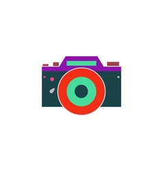 Dslr icon vector