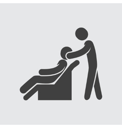 Massage icon vector