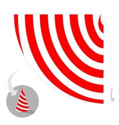 Party hat scheme vector image