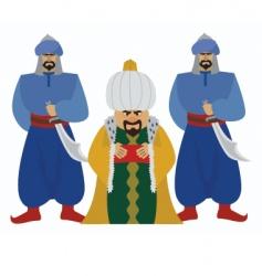 sultan vector image vector image