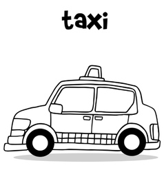Taxi collection vector