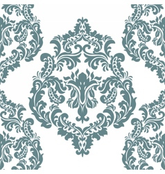 Damask royal ornament element vector